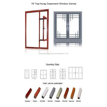 Aluminium Alloy Profile Thermal Break Window (FT-W55)