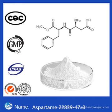 CAS 22839-47-0 Lebensmittelzusatzstoffe Weißes Pulver 99,0% Hochreine Niedrige Preis Aspartam