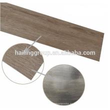 waterprooof pvc seque los tablones del piso del vinilo de la parte posterior con precio de fábrica