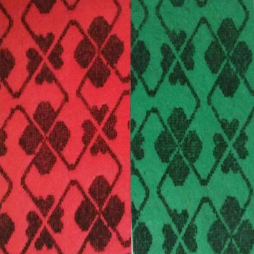 Needle Punch Double Color Jacquard Carpet for Exhibition Carpet