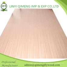 Linda cor e grãos Sapele Fancy Plywood De Linyi