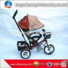 2015 Alibaba hot selling cheap plastic baby tricycle with safe belt three wheels of EVA and AIR