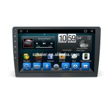 Fábrica directamente! Quad core! DVD del coche de Android 6.0 para el reproductor de DVD del coche univeral con la pantalla capacitiva de 10 pulgadas + 360Degree