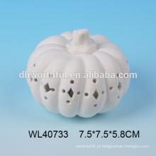 New halloween decoração cerâmica abóbora atacado com led