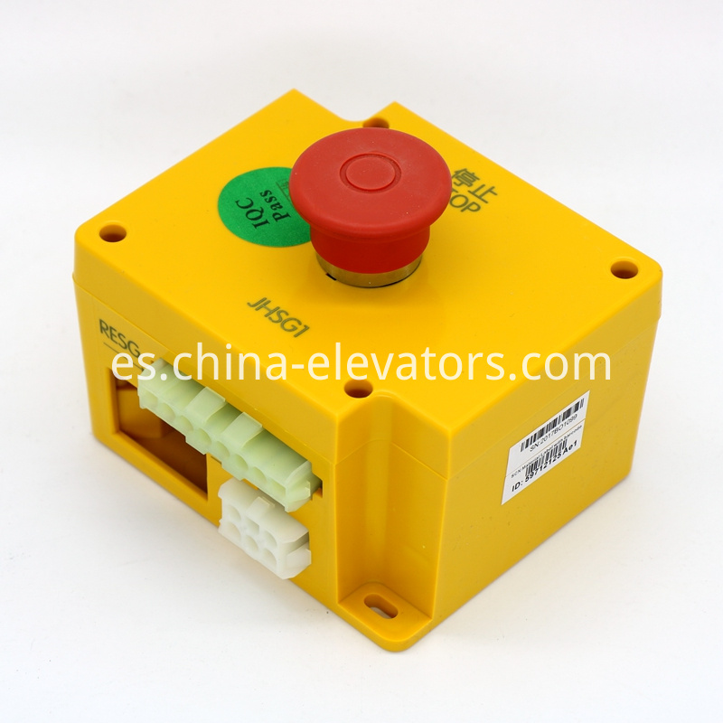 59712125 Pit Emergency Stop Switch Box for Schindler 3300 3600 Elevators