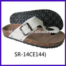 New arrival-Ladies confortable blow slipper handmade shoe genuine leather shoes women