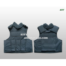 Chaleco antibalas de seguridad tejido / fibra de aramida Kevlar camisetas