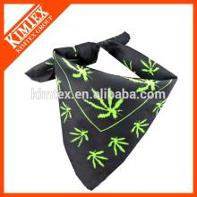 Мода уникальный печатный бренд квадратный хлопок шарф