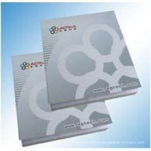 Notes collantes imprimées bon marché dans l'emballage de film de cigarette