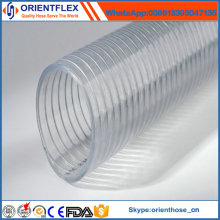 High Temperature PVC Steel Wire Plastic Pipe/Reinforced Hose