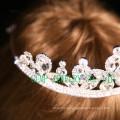 Высокое качество невесты свадебный хрусталь кристалл тиары кристалла