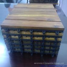 Carrelage en bois pour meubles extérieurs à bon prix
