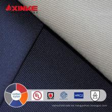 tela repelente al fuego algodón nylon 5.5oz para prendas de vestir