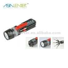 8 en un tornillo redondo Philips destornillador ranurado Linternas LED Juego de herramientas
