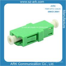Adaptador LC / APC Simplex de fibra óptica