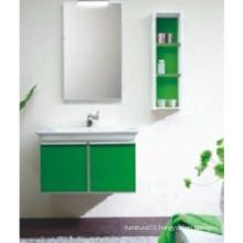Hot Sale PVC Bathroom Cabinet with Mirror