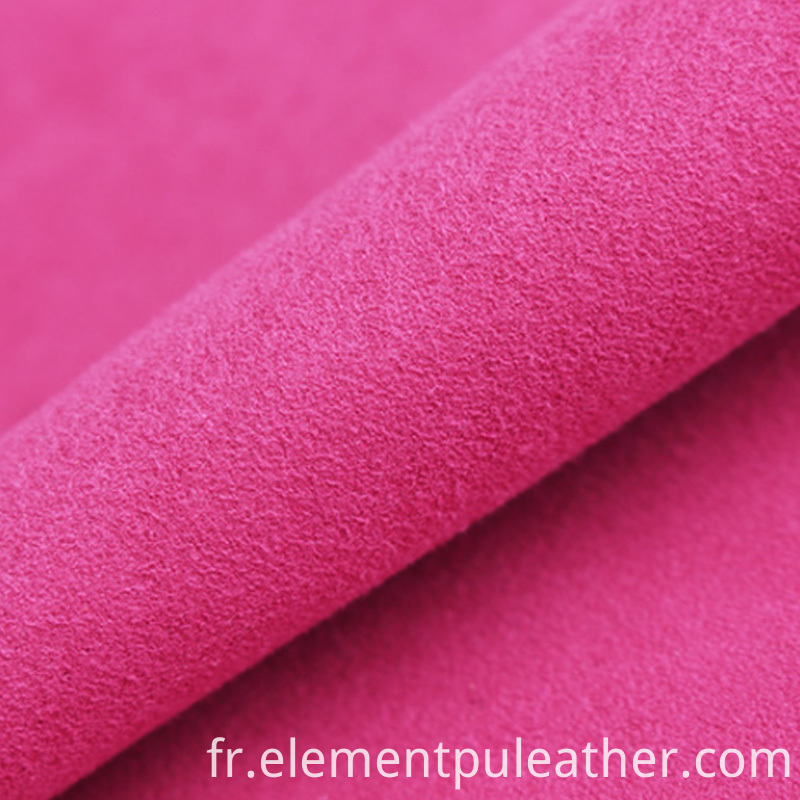 0.6mm Nonwoven Synthetic Microfiber