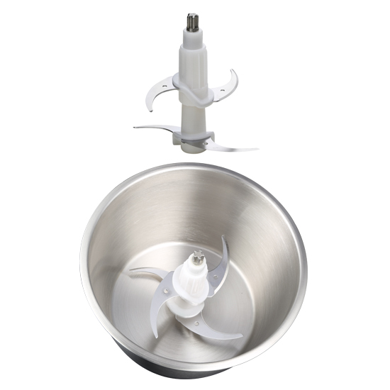 stainless steel bowl food chopper