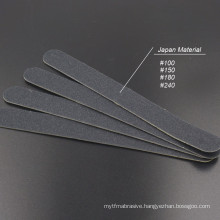 New design emery boards 100/180 stainless steel Nail file
