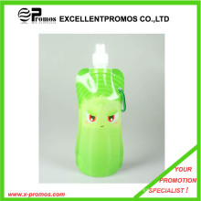 480ml or 16oz Portable Foldable Plastic Water Bottle (EP-B7154)