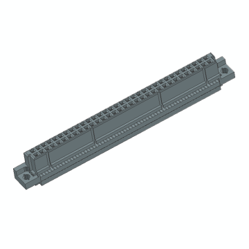 DIN41612 Vertical Female 64P IDC Connectors 2Row