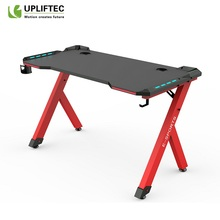 RGB Steel Iron Gamer Gaming Desk Table