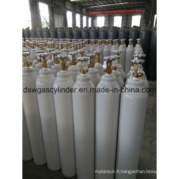 Gaz ISO9809 99.9% N2o rempli dans le gaz de cylindre 40L avec la valve de Qf-2