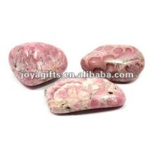 Piedra de piedras preciosas pulidas Piedra de guijarros feliz