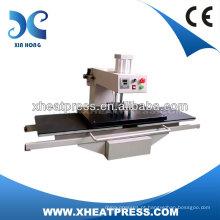 CE Aprovado duas estações Máquina de pressão de pressão pneumática Máquina de pressão de calor Estampagem a quente