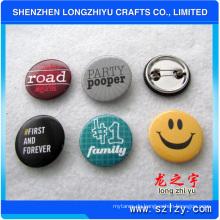 Tinplate Abzeichen Custom Logo Printing Button Abzeichen