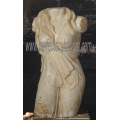 Escultura de pedra esculpida estátua mármore escultura para decoração de jardim (sy-x1071)
