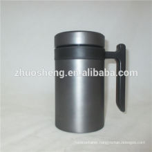 new style drinkware wholesale double wall stainless steel ceramic mug cup design with handle