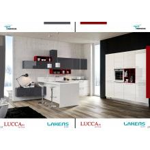 New Arrival Island Design Gabinete de cozinha de alto brilho