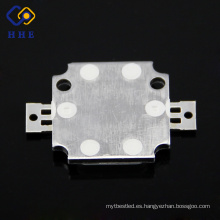 COB de LED de alta potencia de 10W LED RGB para chip LED de luz de escenario