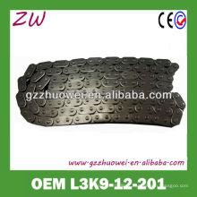 Corrente de sincronismo de carro Corrente de sincronização de prata MAZDA CX7 L3K9-12-201
