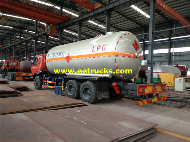Dongfeng 7000 Gallon Propane Delivery Trucks