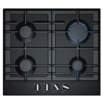 Bosh Gas Hobs 4 Burner Tempered Glass