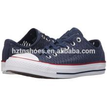 Дешевые оптовая Холст обувь дамы Новая модель выдолбленной обуви
