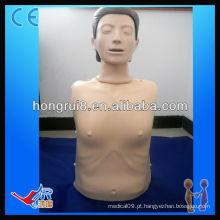 ISO Advanced Computer Manequim de CPR de meio corpo