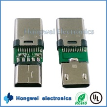 Male Micro USB to Female Type C USB Adapter Connector