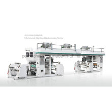Máquina laminadora seca de alta velocidad