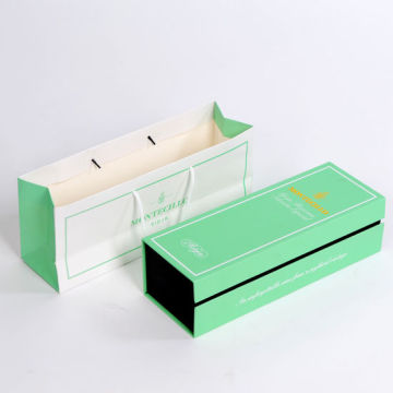 Custom Perfume Bottle Packaging Box med EVA Insert