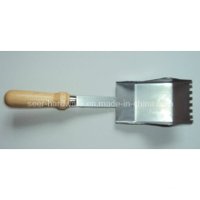 Carbon Steel and Wood Handle Sand Scoop as Garden Tool
