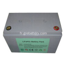 Pack batterie 12V 100Ah 26650 4S32P LiFePO4