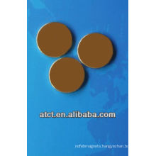 Rare Earth Gold Coating Disk Magnet