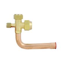 Válvula dividida de tubería de aire acondicionado
