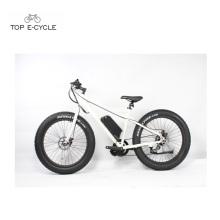2017 cheap factory price 26inch fat tire mountain electric bike