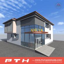 Le bâtiment en acier approuvé par CE BV pour le centre commercial