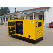 CE&ISO approved 50KW soundproof gas generator set with CHP