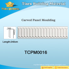 Beautiful pu (Polyurethane) ceiling moulding with factory Price